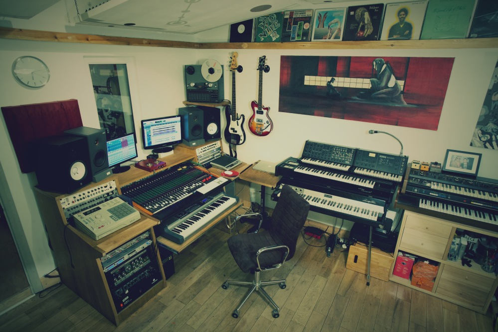 The control room at The Lab Studios offers a host of analog and digital equipment to fulfil any client looking for affordable recording services in London